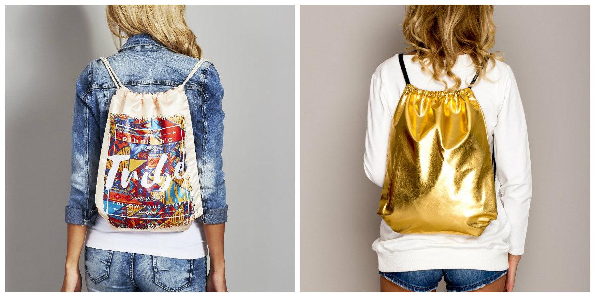 modne plecaki worki