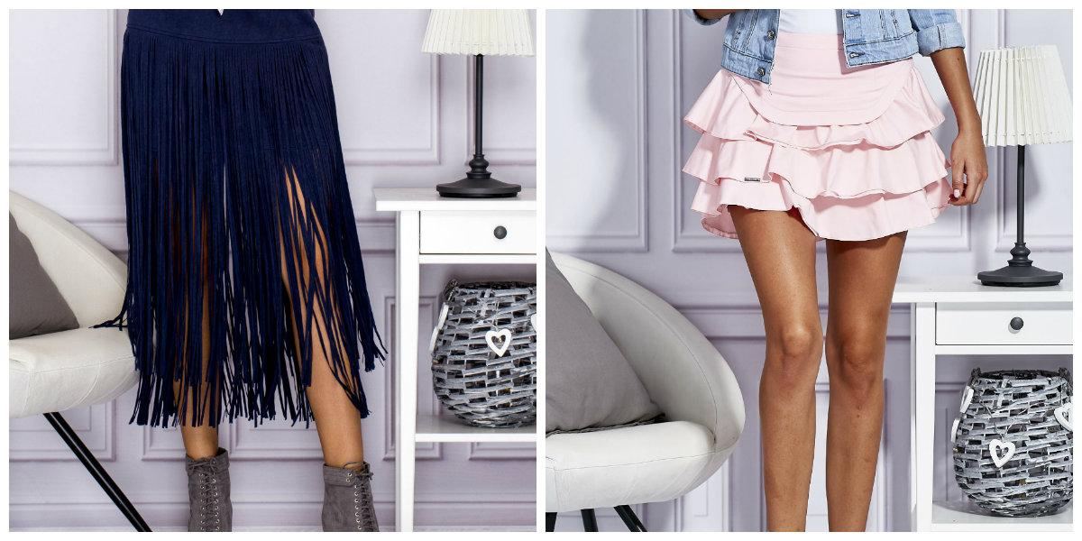 modne spódnice damskie