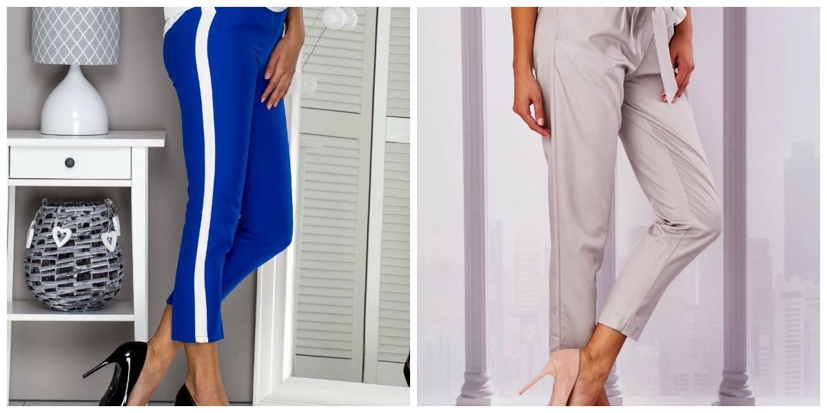 spodnie cygaretki damskie