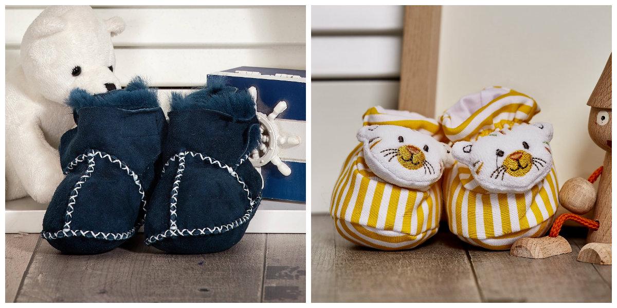 buty dla niemowlaka