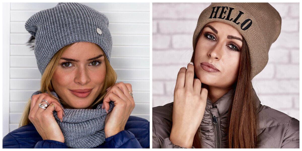 damskie czapki zimowe