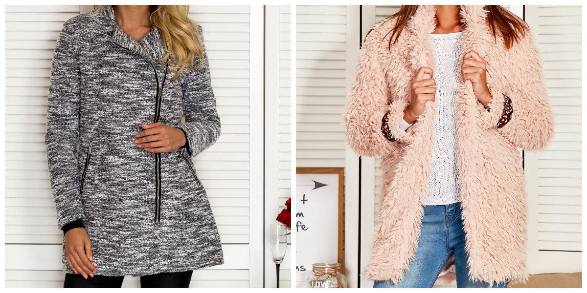 płaszcze damskie na zimę