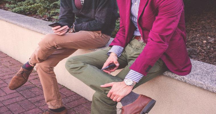 Modne spodnie męskie na jesień