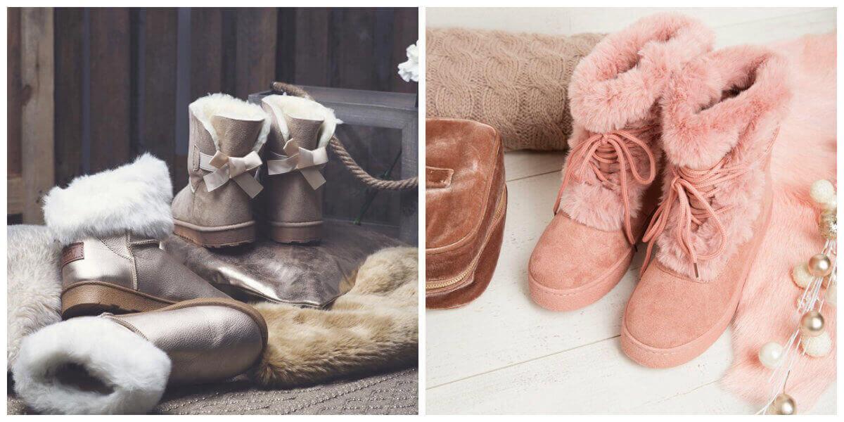 buty emu modne śniegowce
