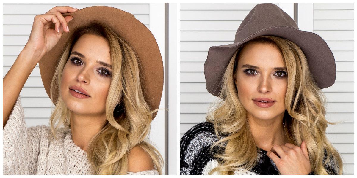 kapelusze damskie
