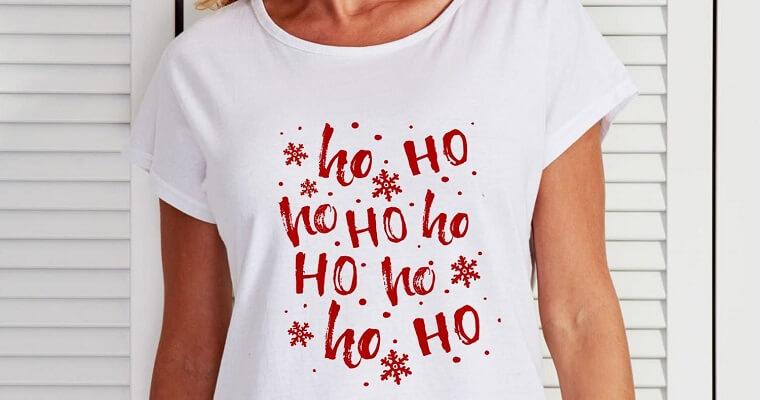 T-shirty świąteczne – poczuj magię świąt