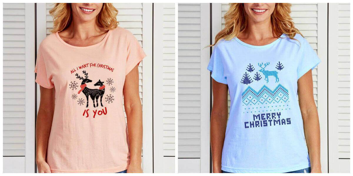 t-shirty świąteczne koszulki świąteczne