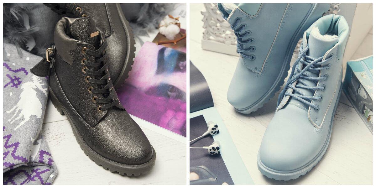trapery damskie buty na zimę