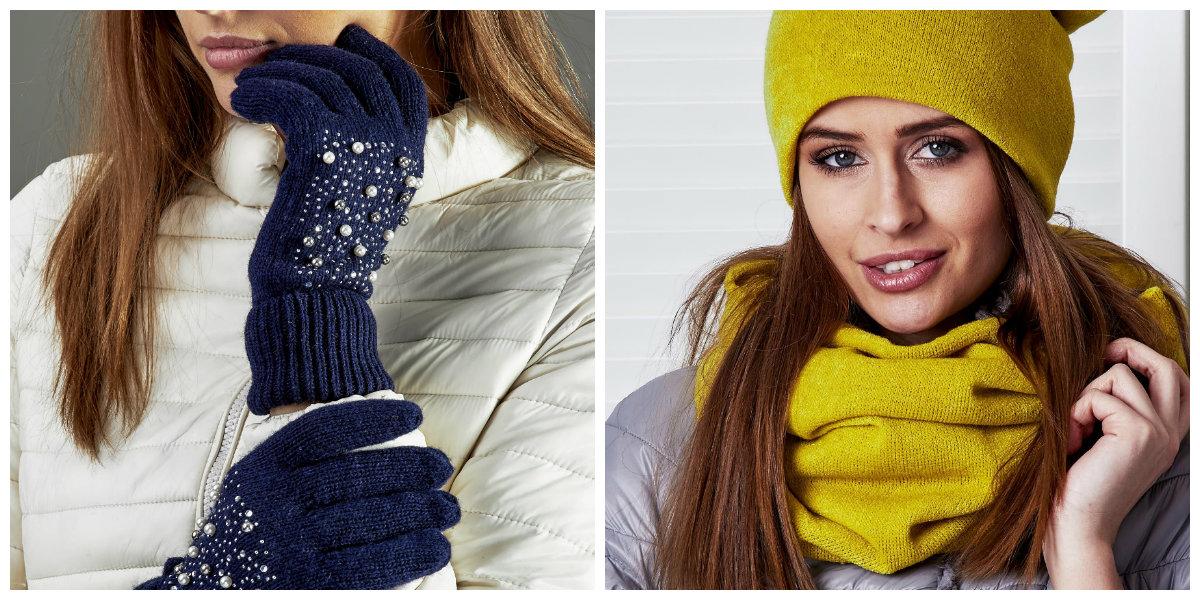 akcesoria zimowe damskie