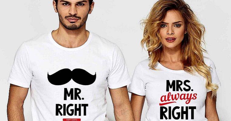 Koszulki dla par – idealny prezent na Walentynki