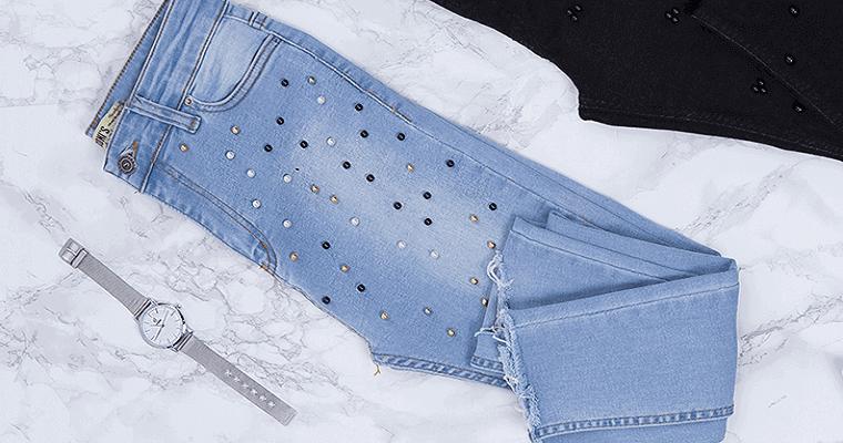 Jeansy damskie stylizacje: propozycje