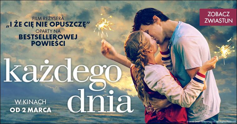 Każdego dnia – zaproszenia na film od ebutik.pl