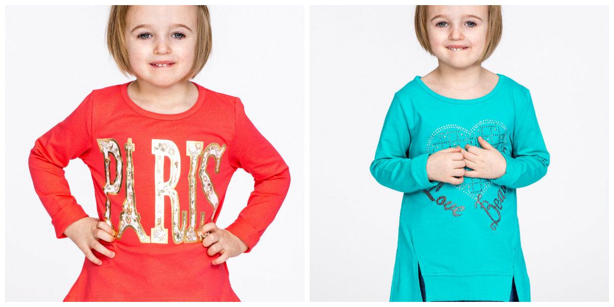 bluzki dziewczęce