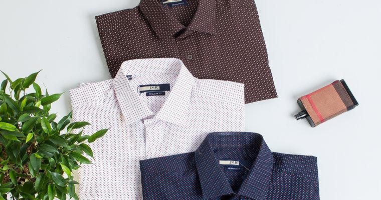 Koszule męskie we wzory – przegląd trendów