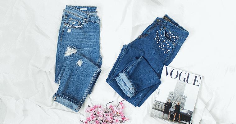 Spodnie o modnym kroju: mom's jeans