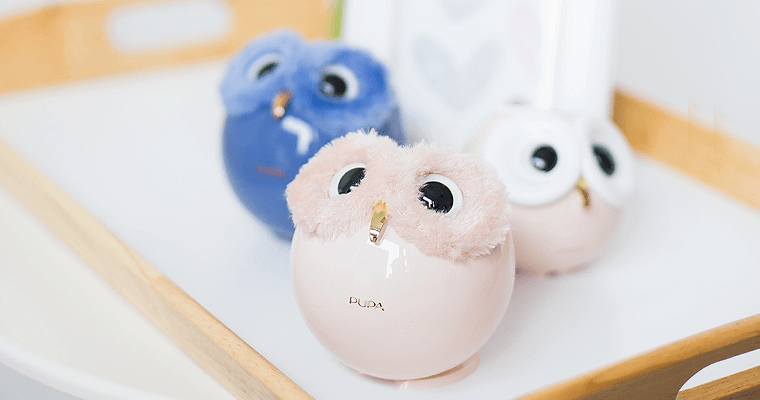 Pupa Owl: niezwykłe palety do makijażu