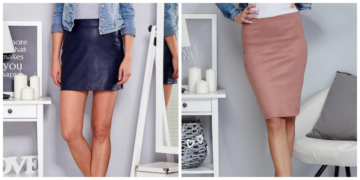 Spódnice skórzane z czym je nosić? Blog eButik.pl