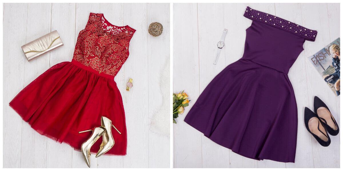 modne sukienki na wesele
