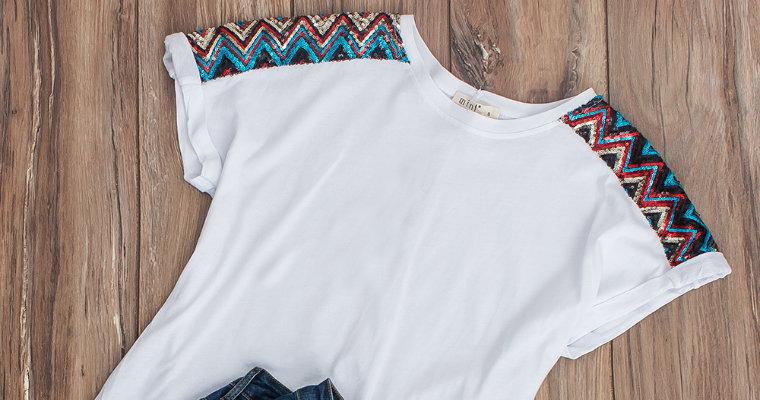 T-shirty z aplikacjami – must have na wiosnę