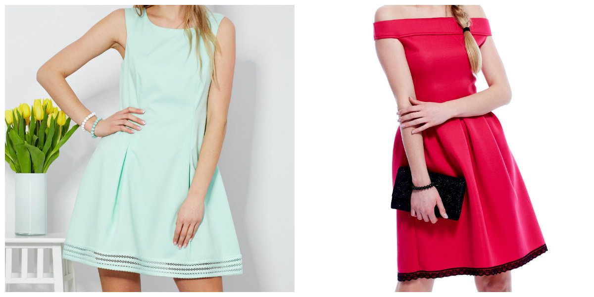 sukienki dla świadkowej