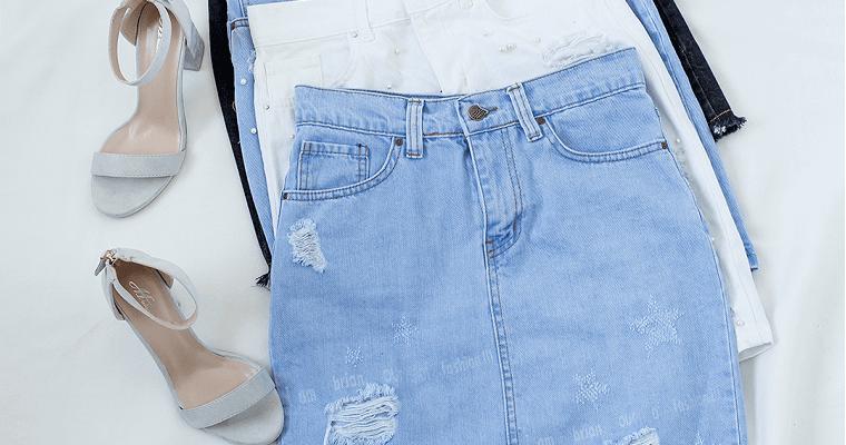 Jeansowa spódnica – jakie buty do niej dobrać?