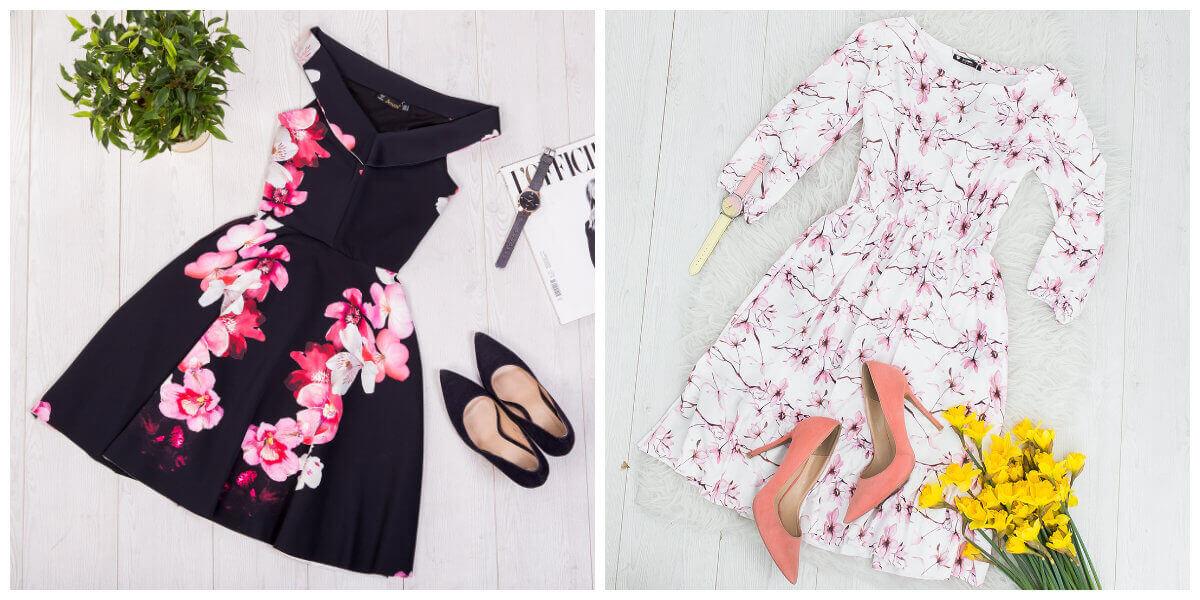 a36bbecf18 Sukienki w kwiaty na lato  ciekawe modele - Blog eButik.pl