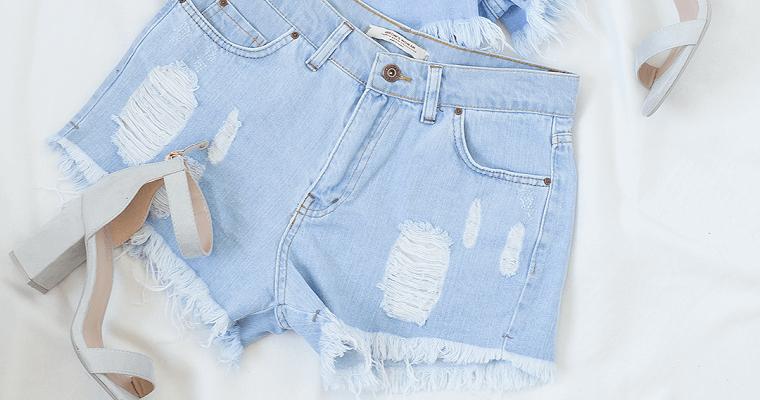 Jeansowe szorty – z czym łączyć?