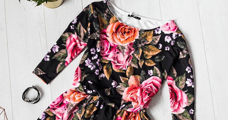 Sukienki w kwiaty na różne okazje
