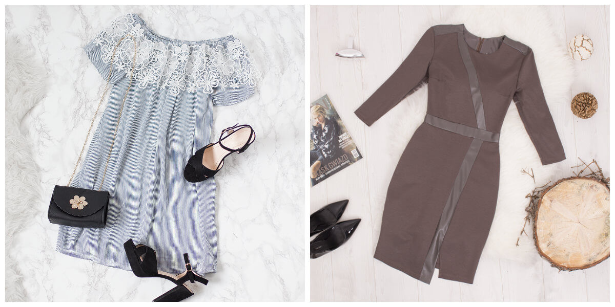 sukienki dla gruszki stylizacje