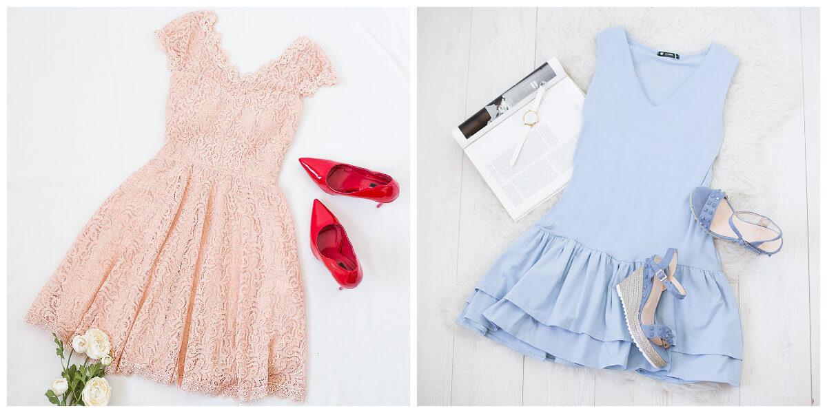 sukienki dla rożka stylizacje