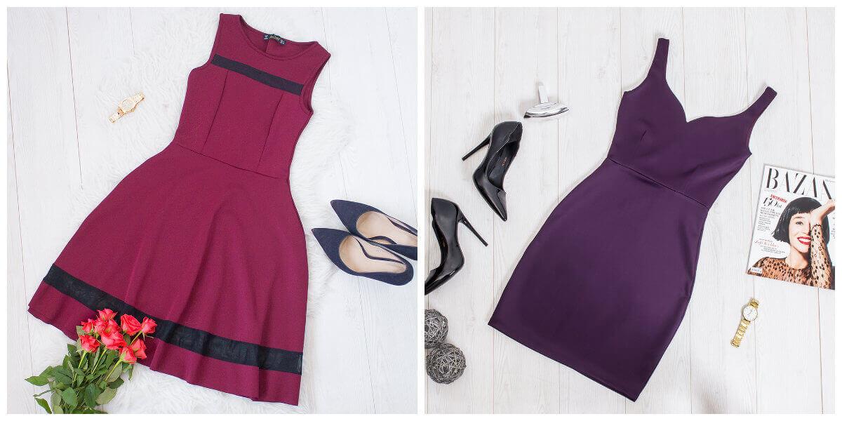 4 stylizacje na jesień z sukienką