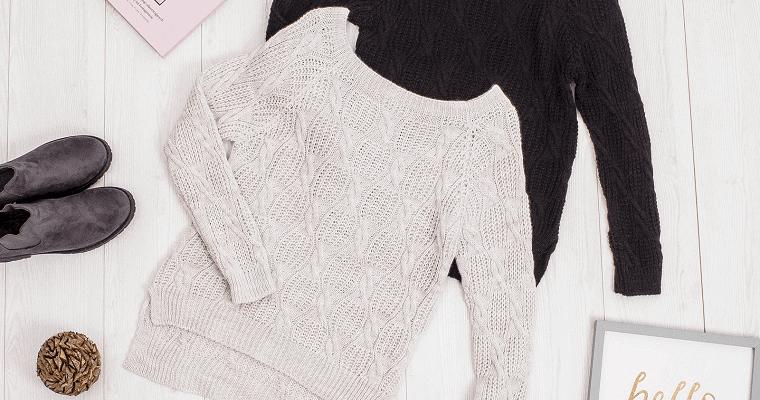 Swetry dla klepsydry: najpiękniejsze modele