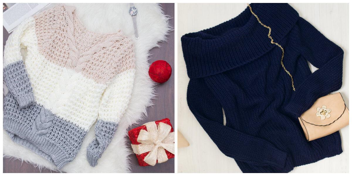 swetry dla gruszki