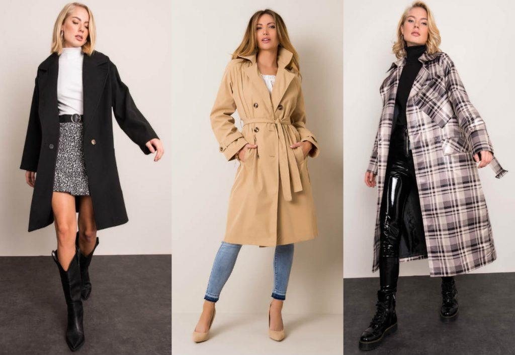 Płaszcze damskie idealne na co dzień!