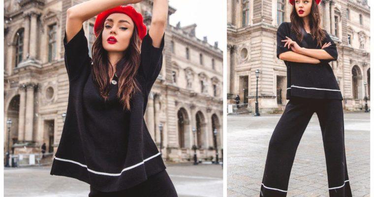 Sweterkowy dres – eleganckie oblicze kompletów