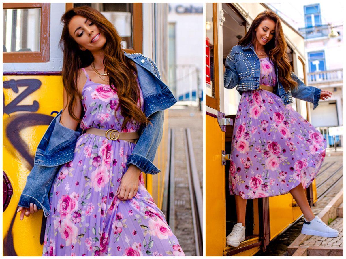 Wzorzyste sukienki na wiosnę – poznaj trendy!