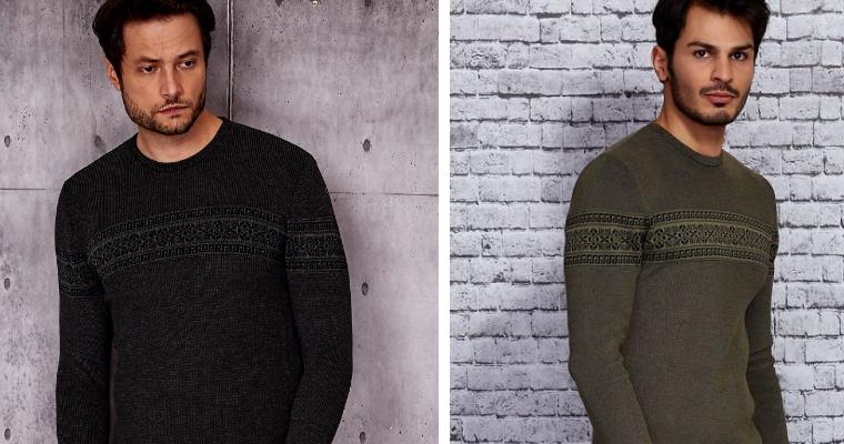Modne swetry męskie na zimę 2020/2021