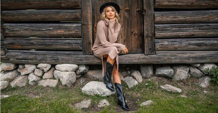 Swetrowa sukienka – przegląd najlepszych fasonów