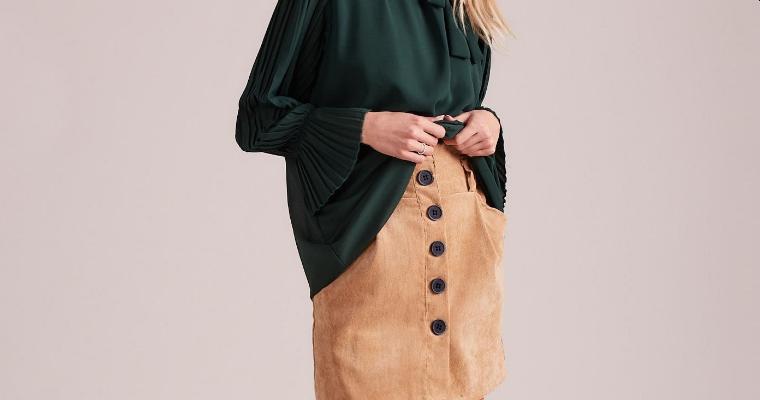 Sztruksowa spódnica – propozycje stylizacji