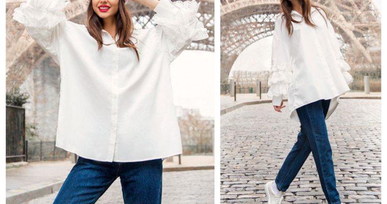 Koszula damska – zobacz wiosenne stylizacje