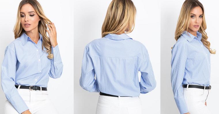 Koszule w stylizacjach biurowych kobiet