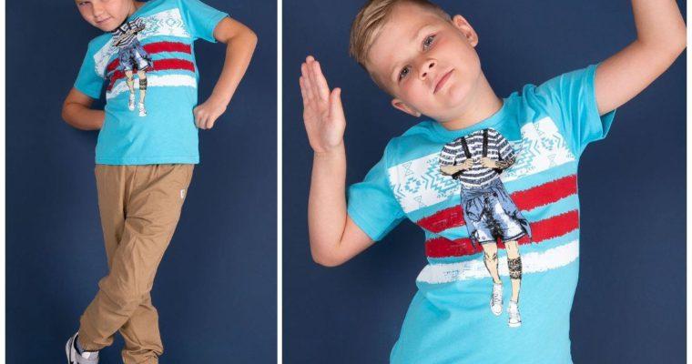 T-shirty dla chłopca na wiosnę – jestem cool!