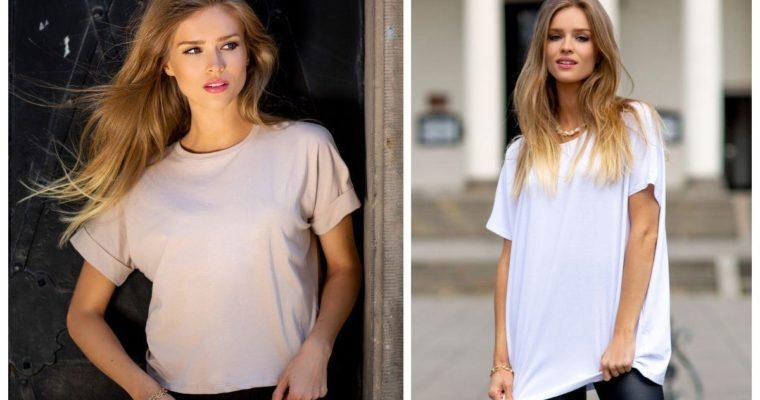 Damski t-shirt basic – najlepsze stylizacje