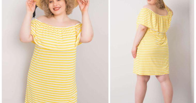 Sukienka plus size na wiosnę – modne wzory i fasony