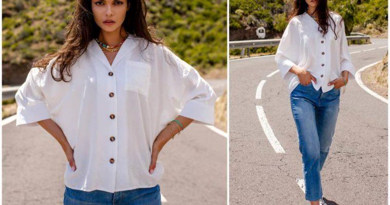 Koszule damskie w casualowych stylizacjach