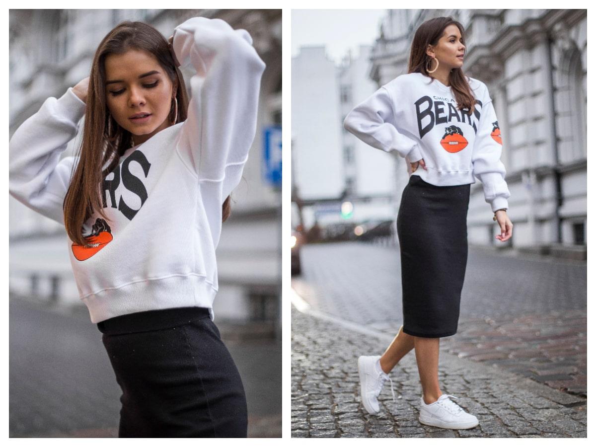 Bluza damska z nadrukiem – sprawdzamy gorące trendy