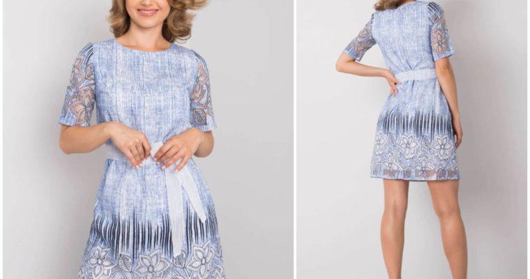 Lniana sukienka – obowiązkowa kreacja na lato