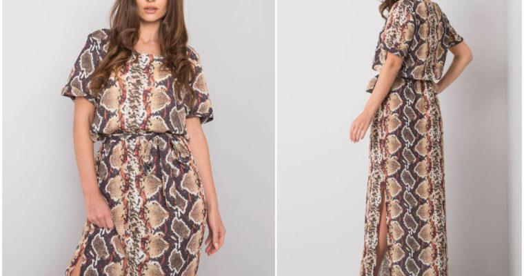 Sukienka z printem – wyróżnij się!