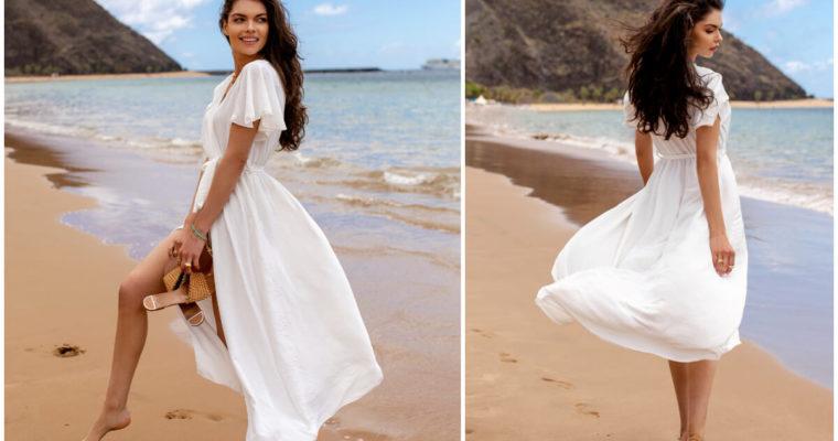 Biała sukienka maxi na lato – jak ją stylizować?