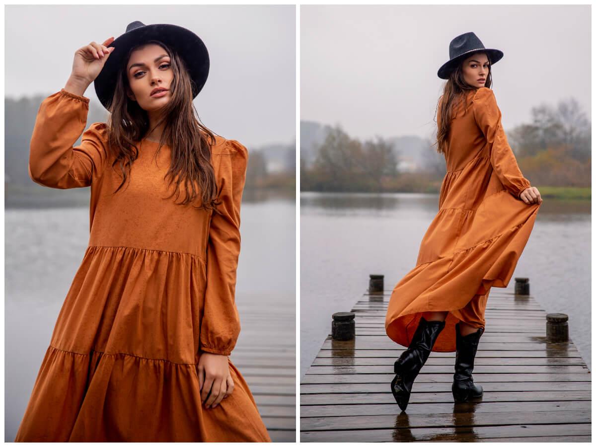 Sukienki maxi w jesiennym wydaniu – sprawdź te propozycje